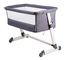 Berceau Bébé Évolutif Co-sleeping 2en1 Theo Dark Grey
