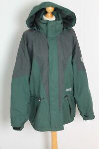 Jack Wolfskin Gore-Tex Green Hooded Coat Parka Waterproof EUR Large Asian XL