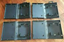 4 Vintage Original OEM Sega Genesis Black Game Empty Cases *Fast Shipping!