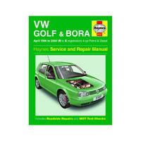 VW Golf Bora Haynes Manual 1998-00 1.4 1.6 1.8 2.0 Petrol 1.9 Diesel Workshop