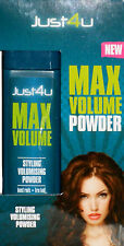Just4U Max Volume Volumising Volumizing Powder, Boosts Roots 10gm
