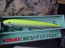 "Rapala Orginal Floating F18 SFC ""Silver Flo Chartreuse"" Bass/Walleye/Pike/Salmon"
