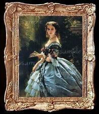 Portrait of A Royal Princess Miniature Dollhouse Picture