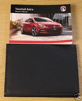 GENUINE VAUXHALL ASTRA J 2012 -2016 OWNERS MANUAL HANDBOOK WALLET PACK