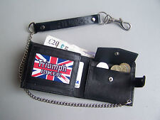 TRIUMPH Biker Wallet with Safety Chain by Stoney's Badge Supplies