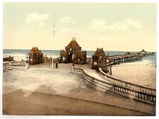 6 Victorian Views Skegness Promenade Pier Clock Tower Pictures New Old Photos