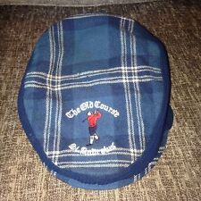 Vintage Glenway pure wool cap st andrews golf le vieux golf scotland rare