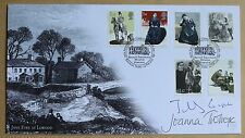 JAYNE EYRE 2005 BUCKINGHAM FDC SIGNED BY AUTHORS JILLY COOPER & JOANNA TROLLOPE
