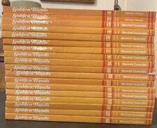 VINTAGE GOLDEN HANDS COMPLETE SET (Knitting/Dressmaking Guides) Vol 1-18