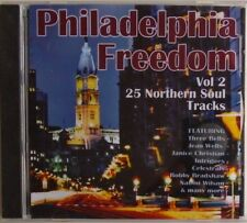 PHILADELPHIA FREEDOM - CD - Vol 2 - 25 Northern Soul Tracks - BRAND NEW