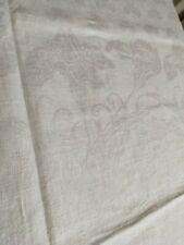 tovaglia in lino damascato