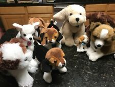 Lot Of 8 Nintendo Nintendogs Labrador/boxer/beagle   Plush Dog