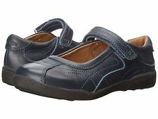 Stride Rite Navy Leather MaryJanes School Shoes  Little Girls Size 11 Wide