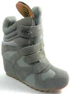 NEW Mos Copenhagen Women`S Boots Suede/Mesh Size 9.U.S