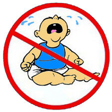 No cry baby, construction stickers S-1