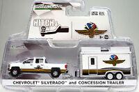 """Chevrolet Silverado + Trailer """" Indianapolis """" Scale 1:64 Von Greenlight"""