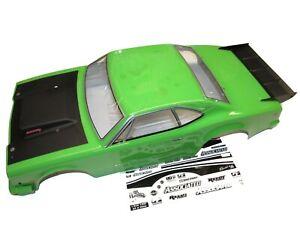 Team Associated DR10 Drag Car Street Eliminator RALLYE GREEN Drag body, Wing