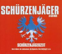 """SCHÜRZENJÄGER """"SCHÜRZENJÄGERZEIT"""" 3 CD BOX NEUWARE!!!!!"""