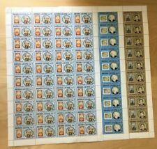 FULL SHEETS Sierra Leone 1985 741-3 - UN & Famous Men - Set of Sheets - MNH