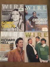 The Wire Magazine 2000s 12 Back Issues - Tortoise/Mouse On Mars/Sonic Youth