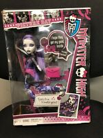 Monster High PICTURE DAY Spectra Vondergeist Doll 2012  NRFB NIB