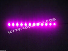 """PINK 12"""" 5050 SMD LED STRIPS  2 STRIPS FITS ALL CARS"""