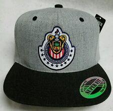 LAS CHIVAS RALLADAS DE GUADALAJARA MEXICO HAT HEATHER GRAY BLACK SNAP BACK 15168866200