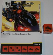 MOTORCYCLE: BURN RUBBER 106 Dice Masters Rare