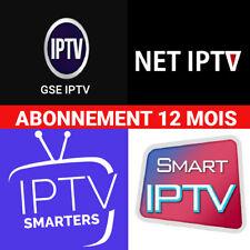 IP*TV Smarters Pro Abonnement 12 mois(✔️M3U✔️SMART TV✔️ANDROID✔️IOS) envoie 10 m