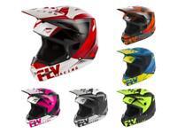 2019 Fly Racing Elite Vigilant Adult Helmet Motocross Off Road Dirt Bike ATV MB