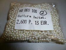 2600 Stück Perlen 3mm Cultura Imitat  erstklassige Qualität Nr. 2