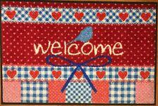 KLEEN-TEX wash+dry Wohnmatte / Fußmatte Welcome ca. 50 x 75 cm - 030287