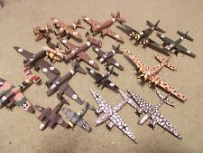 WW II AXIS Aircraft Collection I: (15) Built and Painted Models, 1/144 Scale