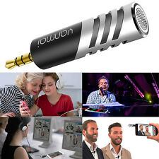 3.5mm Mini Digital Stereo Mic Condenser Microphone for Mobile Phone PC Recorder