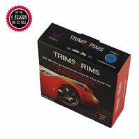 Trims4Rims by Rimblades Felgenschutz & Styling Ringe Felgenrandaufkleber BLAU