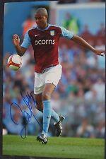 Zat Knight signed photo (Aston Villa)