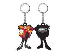 Sonic The Hedgehog porte-clés caoutchouc Dr Eggman 6 cm keychain Sega 334866