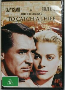 Alfred Hitchcock's To Catch A Thief 1955 - Region 4 - Preowned - Tracking (D774)