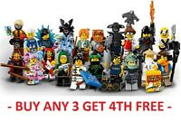 LEGO NINJAGO MOVIE MINIFIGURE MINI FIGURE 71019 SHARK POP KAI LLOYD ZANE WU JAY
