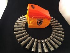 NERF VULCAN AMMO BOX & 25 ROUND AMMO CHAIN SIDE CASE TESTED ACCESSORY
