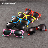 Children Retro Polarized Sunglasses Boys Girls Outdoor UV400 Square Glasses New