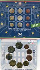 ITALIA 2011 DIVISIONALE UFFICIALE 8 MONETE + 2 EURO UNITA' D'ITALIA