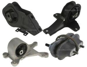 9MB112A 4pc Motor Mounts fit 2.4L 3.1L engine 1997 1998 1999 - 2003 Chevy Malibu