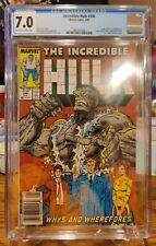INCREDIBLE HULK #346 Marvel 1988 CGC 7.0 Leader & Nick Fury Appearance McFarlane