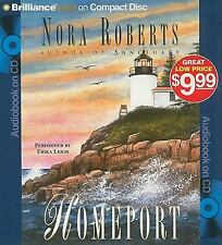 Homeport by Nora Roberts (2010, CD, Abridged)
