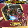 S.H.Figuarts SHF Avengers Mark 50 Iron Man MK50 Nano Weapon Action Figure NO BOX