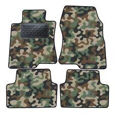 Armee-Tarnungs Autoteppich Autofußmatten Auto-Matten für Honda Accord ab 2008