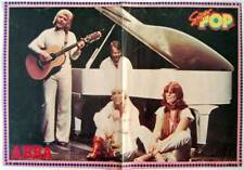 Poster doble de Abba y Willie Aames de la revista Super Pop