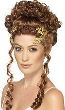 Römischer Lorbeerkranz gold  NEU - Karneval Fasching Perücke Haare