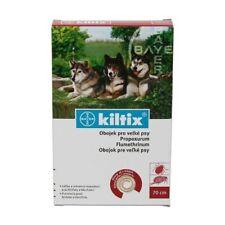 Genuine Bayer Kiltix collar Large Dogs 70 cm Anti fleas & ticks Collar 7 months